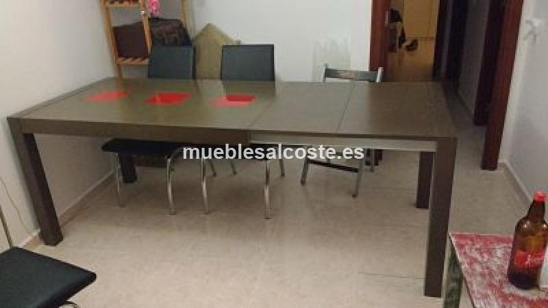 Mesa salon/comedor, estilo Moderno, acabado Melamina cod:14839 ...