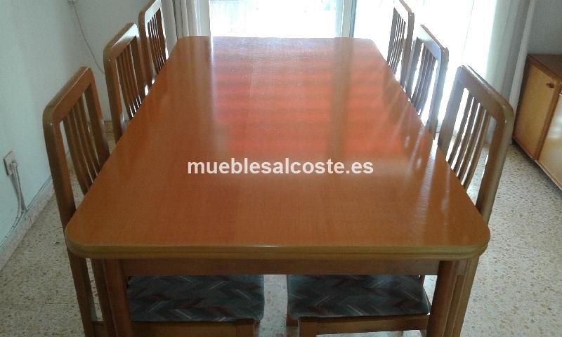 Mesa y sillas comedor cod 15036 segunda mano for Mesa y sillas comedor segunda mano