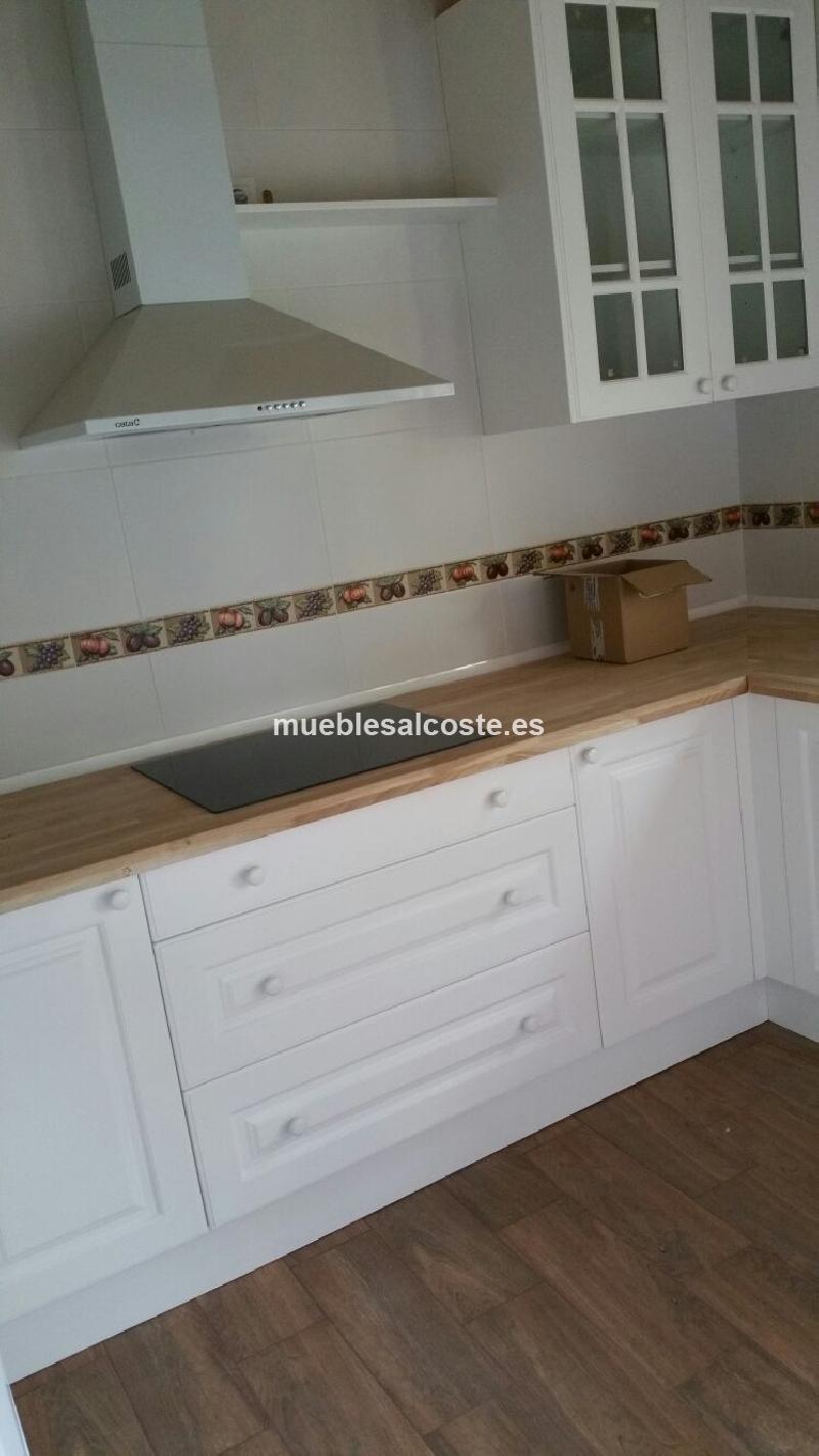 Cocina estilo cl sico neocl sico acabado madera cod 15089 segunda mano - Segunda mano cantabria muebles ...