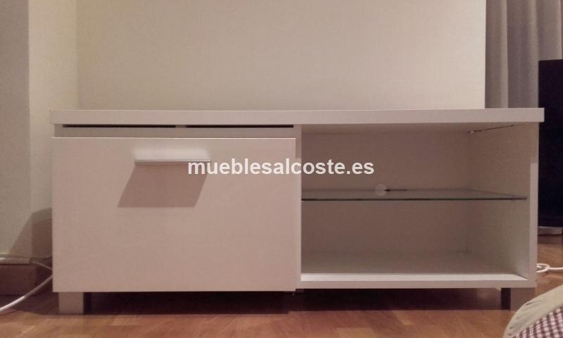 Mueble Tv Estilo Moderno Acabado Chapa Natural Cod 15099