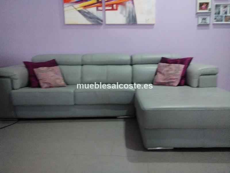 Sofa piel espesorada 2 70 m cod 15213 segunda mano for Sofa segunda mano sevilla