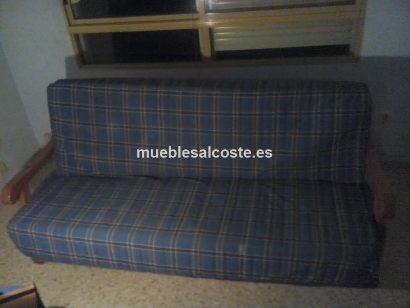Sofa cama estilo igual foto acabado madera cod 15225 - Sofa cama segunda mano sevilla ...
