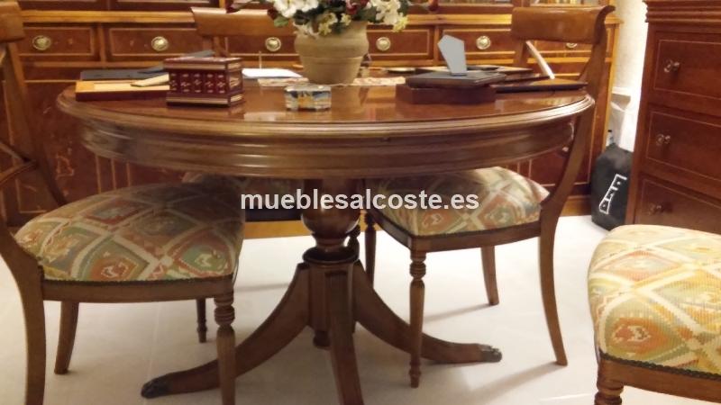Mesa comedor sillas y comoda cod 15313 segunda mano - Comoda mesa extensible ...