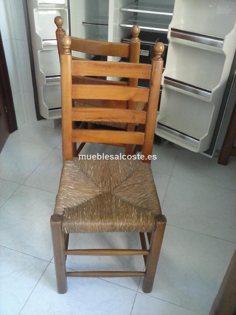 Conjunto mesa y sillas cod 15382 segunda mano - Sillas cocina segunda mano ...