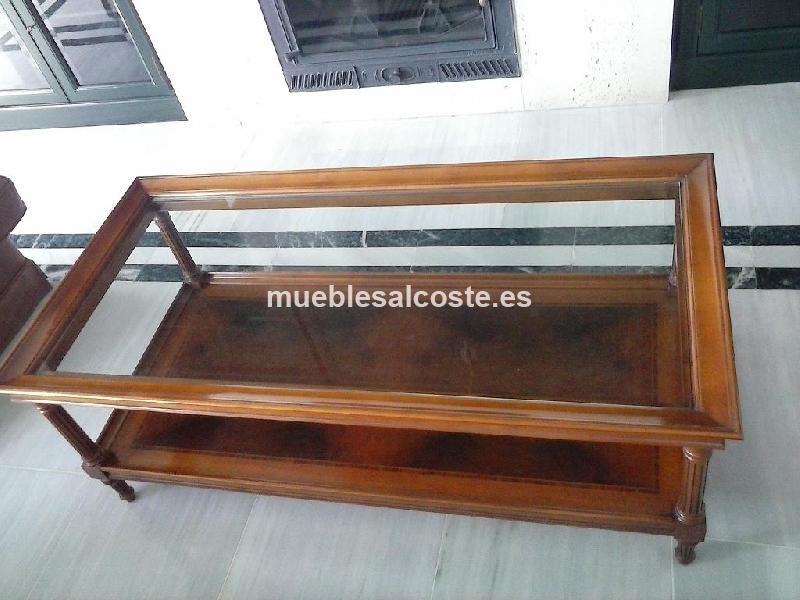 Mesa de salon vintage cod 15389 segunda mano for Mesas vintage segunda mano