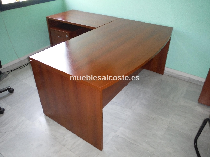 Conjunto de muebles de oficina cod 15398 segunda mano for Muebles de oficina 2a mano