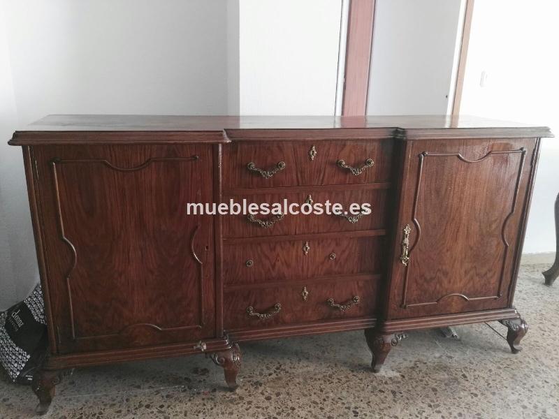 Aparador salon estilo madera acabado madera cod 15459 segunda mano - Aparador segunda mano ...