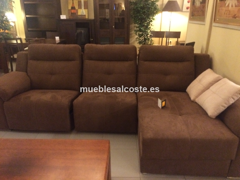 Sofa 3 plazas con chaislon cod 15524 liquidacion for Sofas alicante liquidacion
