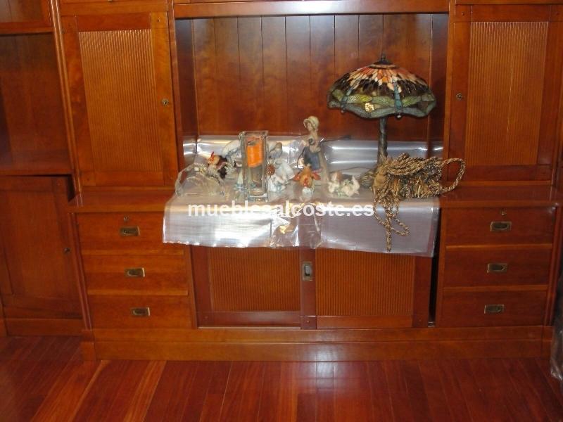 Mueble de salon libreria tele sin usar 15517 segunda mano for Muebles segunda mano bizkaia