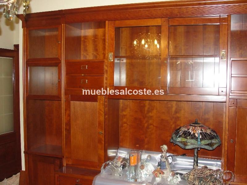 Mueble de salon libreria tele sin usar cod 15517 segunda for Muebles segunda mano bizkaia