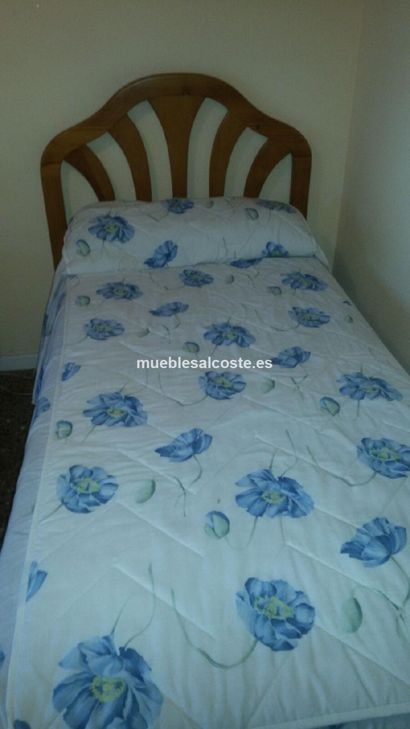 Dormitorio dos camas cod 15546 segunda mano - Dormitorio dos camas ...