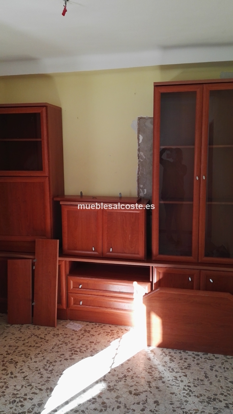 Mueble completo salon cod 15557 segunda mano for Muebles salon completo