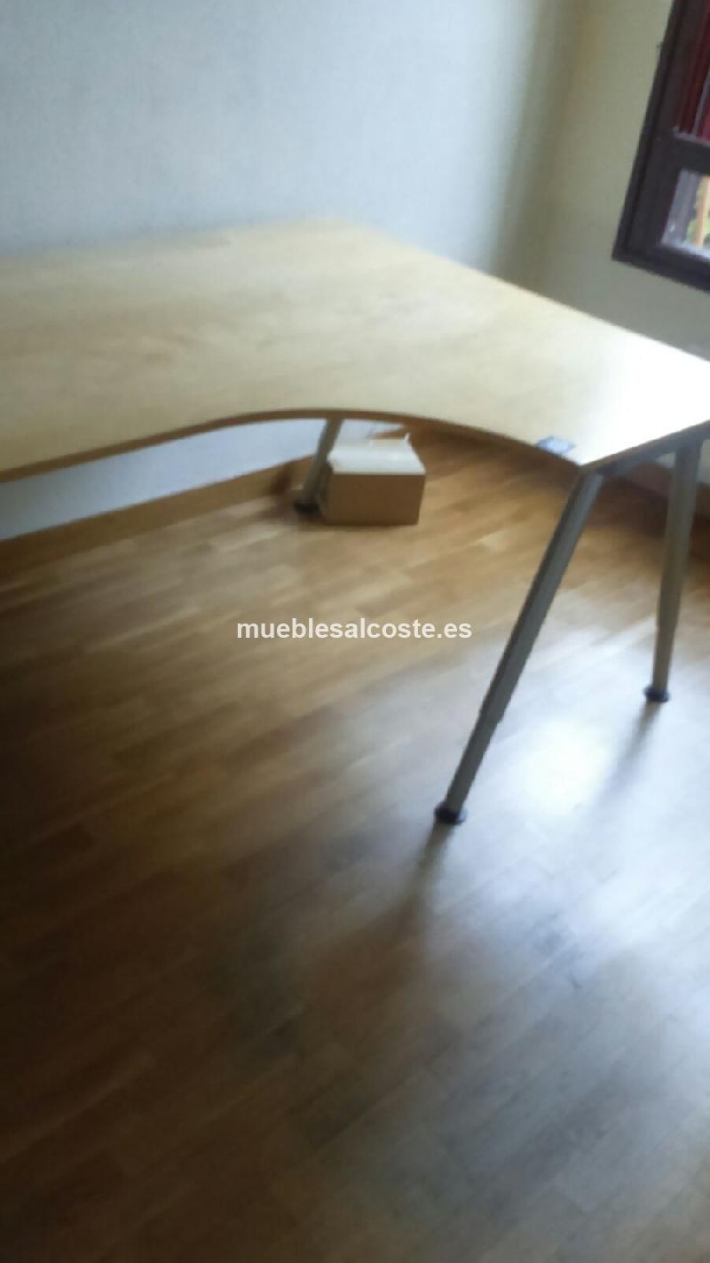 Mesa de Oficina Ikea cod:15599 segunda mano, Mueblesalcoste.es