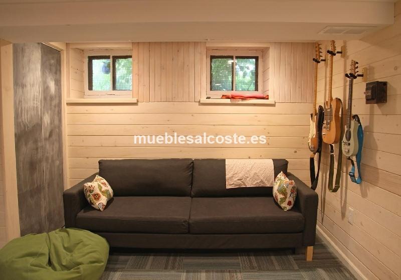 sofa cama escandinavo retro ikea