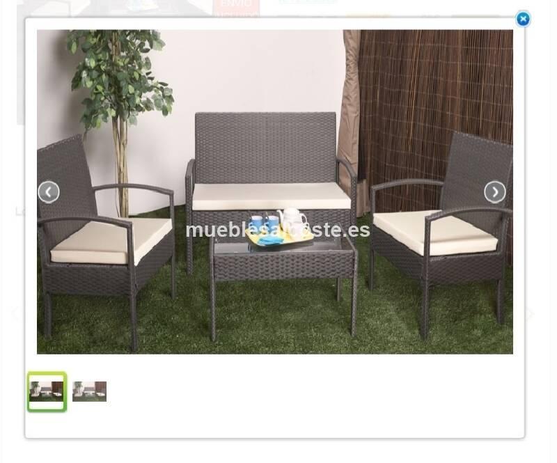 Muebles de terraza cod 15701 segunda mano for Muebles terraza