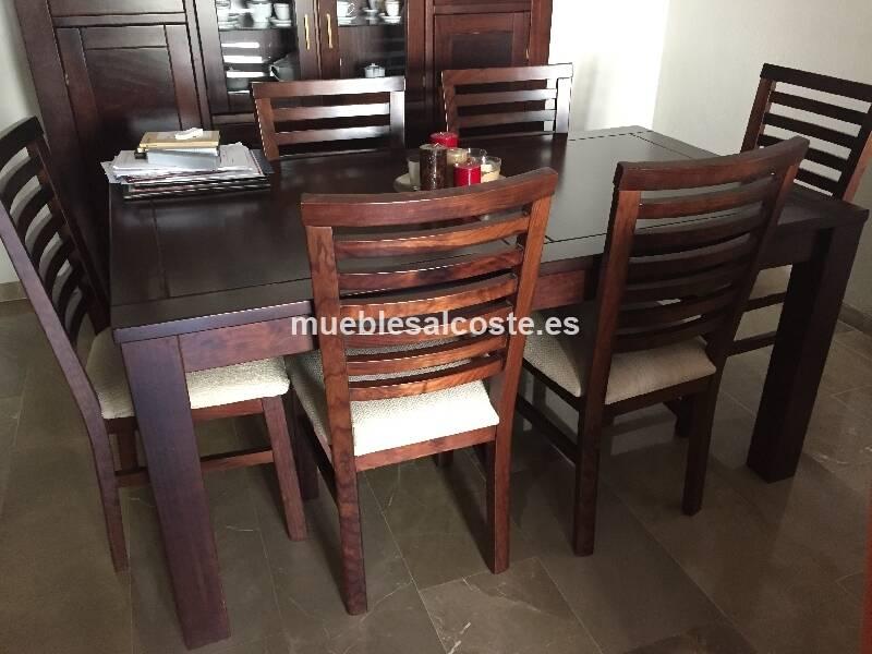 Muebles comedor, estilo Madera, acabado Madera cod:15758 ...