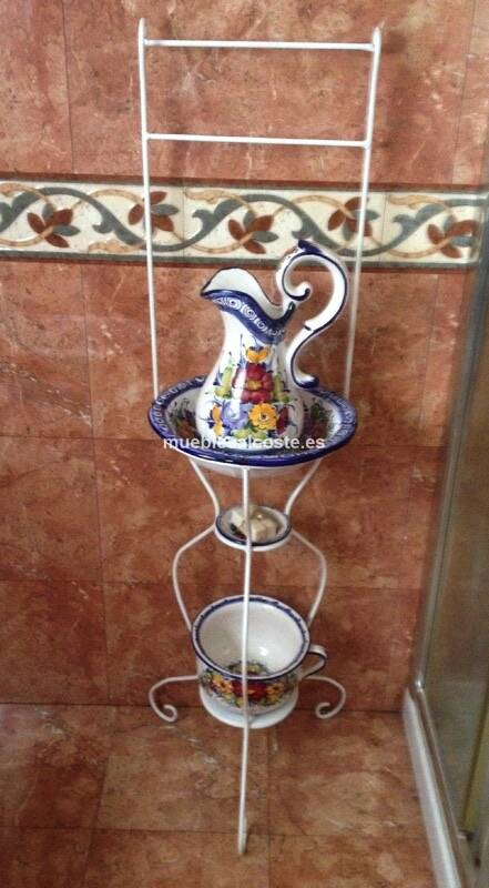 Lavabo forja y ceramica cod 15788 segunda mano for Lavabos segunda mano