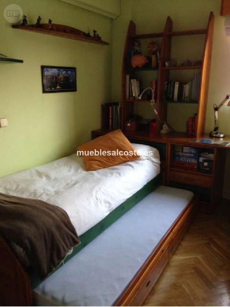 Dormitorio juvenil pino cod 15795 segunda mano - Dormitorio segunda mano ...