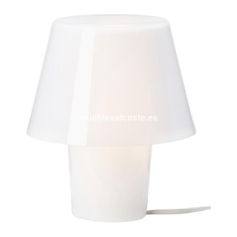 lampara ikea gavik blanca cod 15833 segunda mano