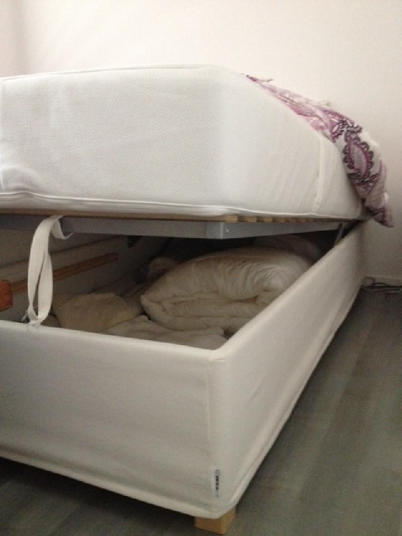 Camas individuales estilo igual foto acabado igual foto - Base cama almacenaje ...