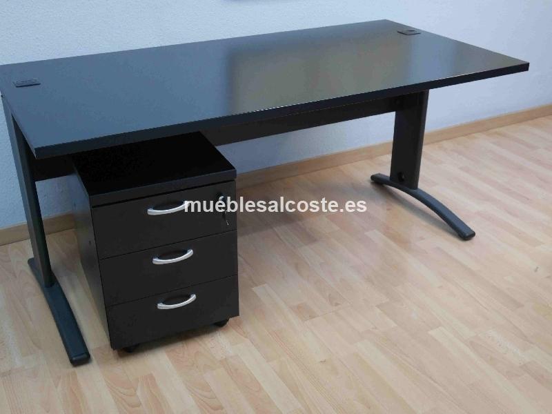 Mesa oficina 1 cod 17255 liquidacion for Pasacables mesa oficina
