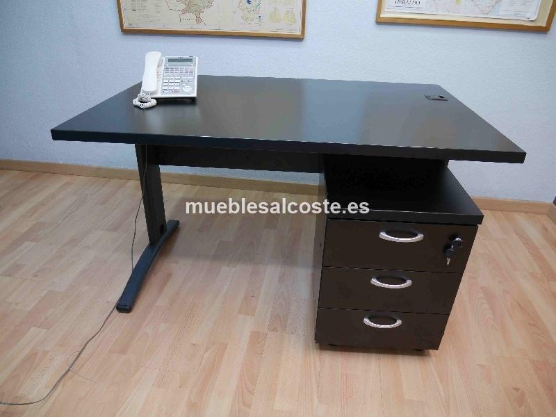 Mesa oficina 2 cod 17256 liquidacion for Pasacables mesa oficina