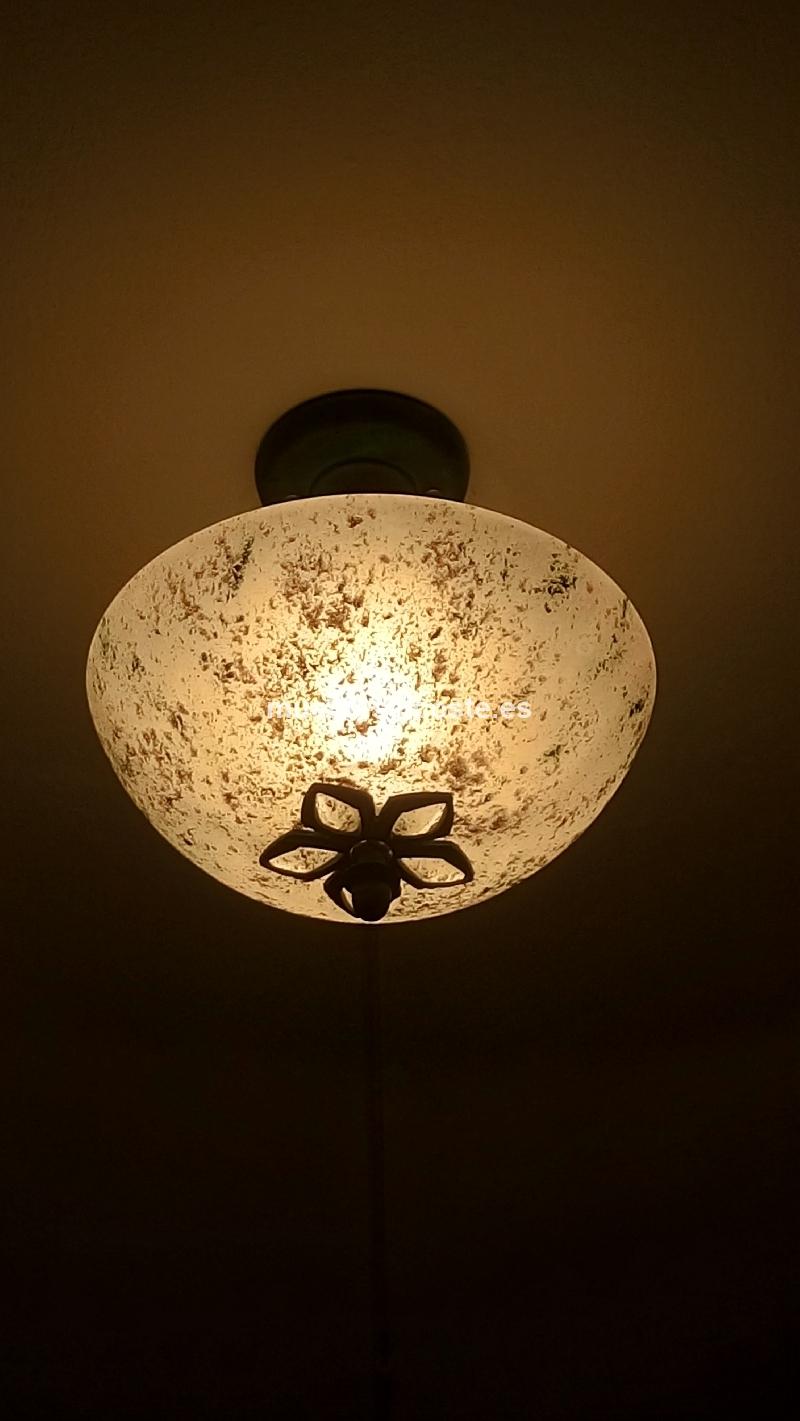 2 lamparas de techo cod 17336 segunda mano - Lamparas techo segunda mano ...