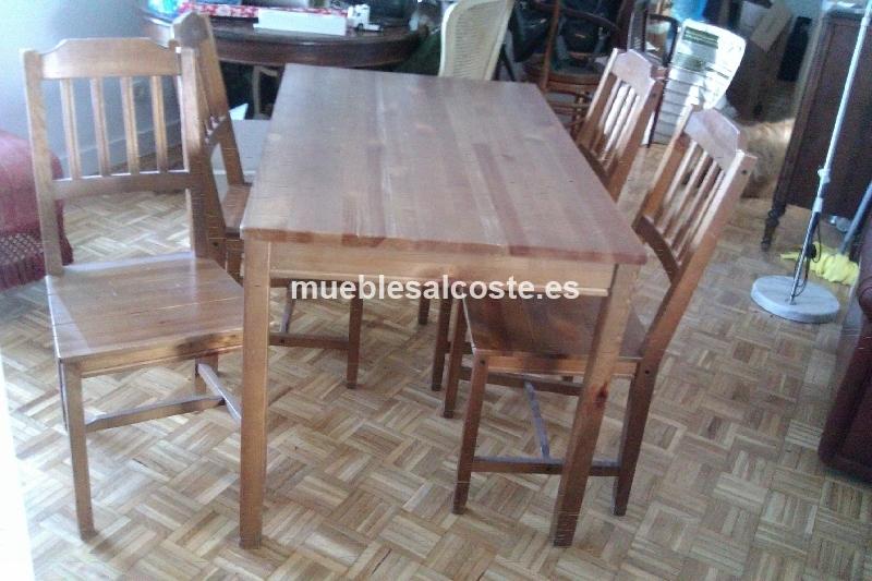 Segunda mano mesas de cocina segundamano barcelona se for Mesa plegable ikea segunda mano