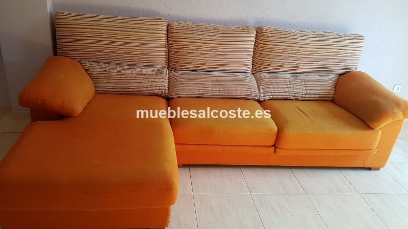 Venta de sofa chaiselongue cod 17698 segunda mano for Busco sofa cama de segunda mano