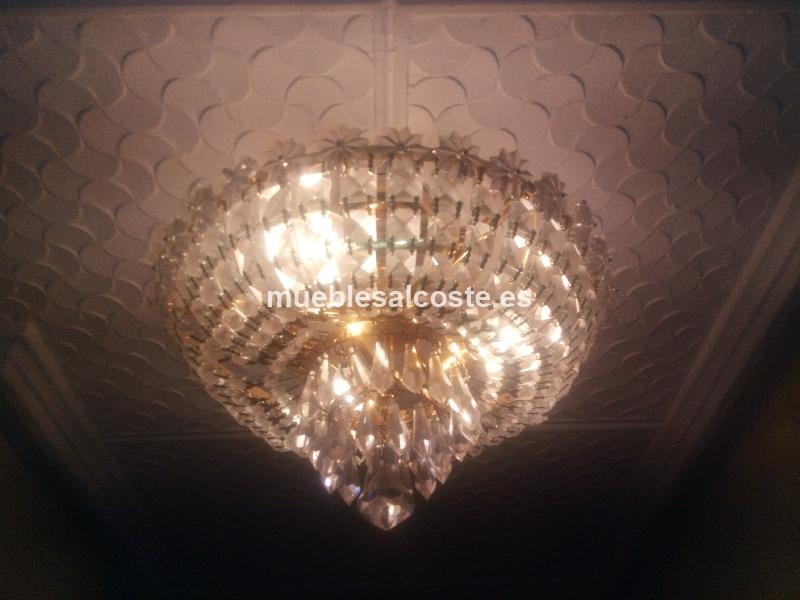 L mparas de cristal cod 17712 segunda mano - Segunda mano lamparas ...