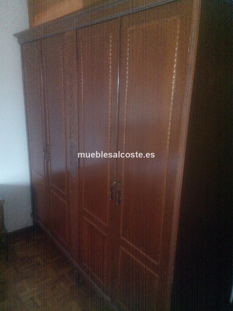 Armario madera vintage cod 17723 segunda mano - Armarios vintage segunda mano ...