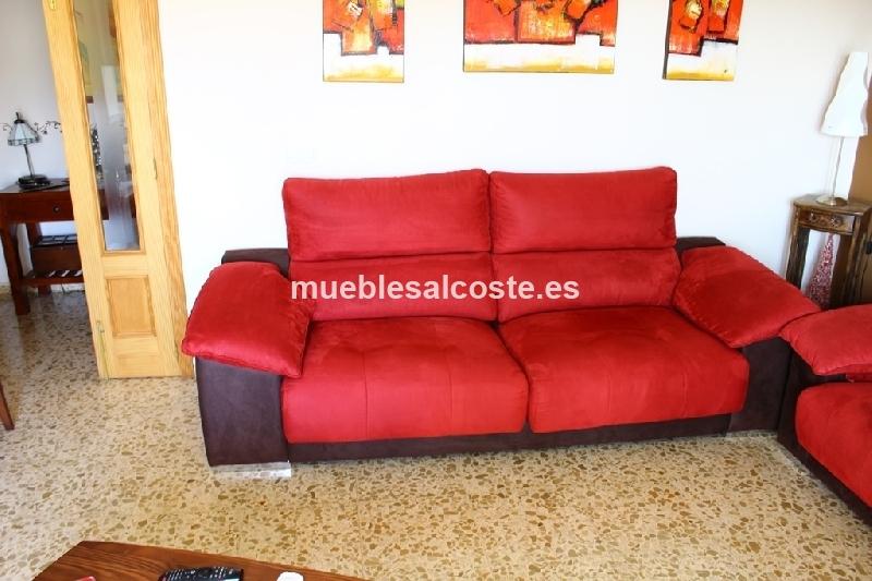Conjunto sofa butaca regalo dormitorio individual cod 17818 segunda mano - Sofa dormitorio ...