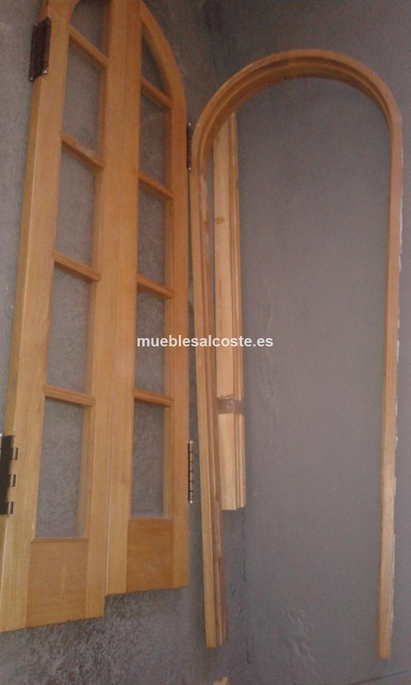 Vendo puerta de arco de madera cod 17979 segunda mano for Vendo casa de madera de segunda mano