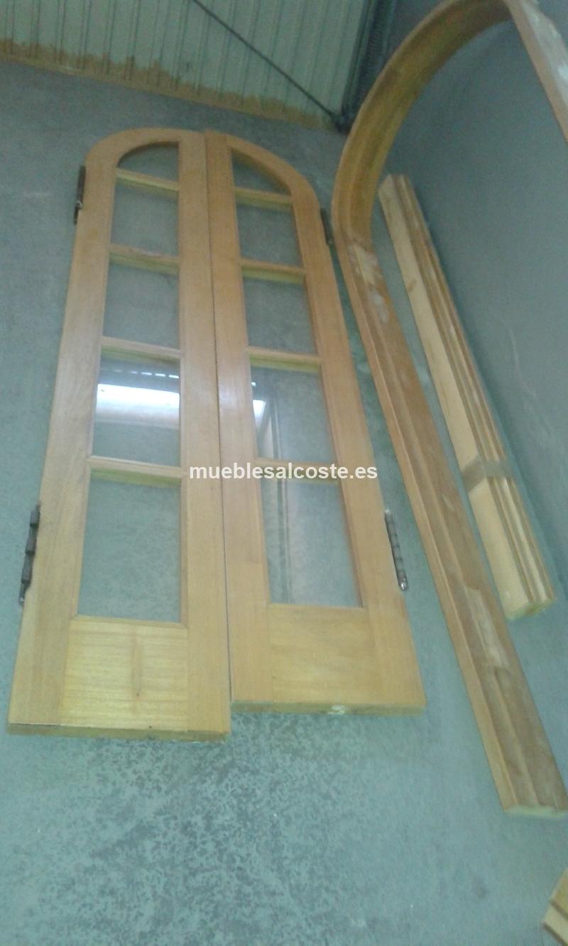 Vendo puerta de arco de madera cod 17979 segunda mano - Puertas de madera segunda mano ...