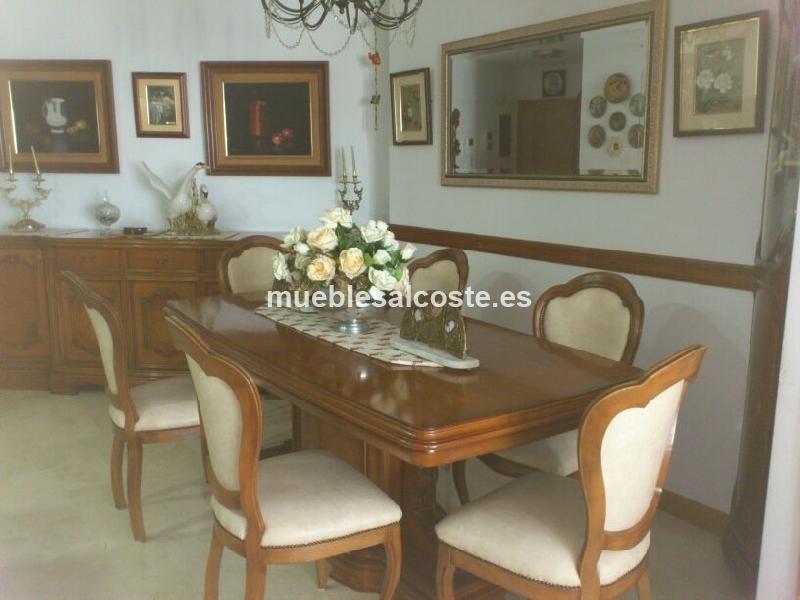 Muebles clasicos de salon comedor cod 17980 segunda mano - Muebles de salon segunda mano madrid ...