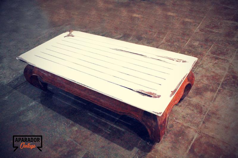 Mesa de sof vintage cod 18111 segunda mano for Mesas vintage segunda mano