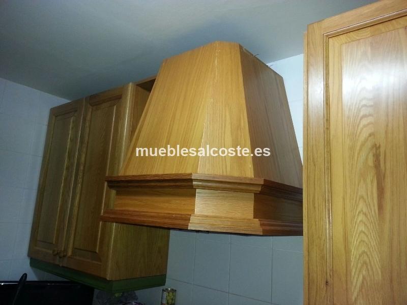 Tiendas De Muebles Segunda Mano : Campana decorativa madera con extractor cod segunda