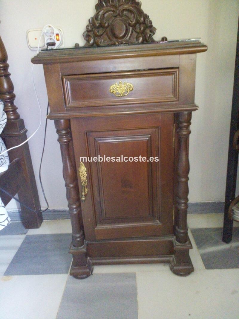 Dormitorio Matrimonio Rustico Segunda Mano : Dormitorio matrimonio madera maciza cod segunda mano