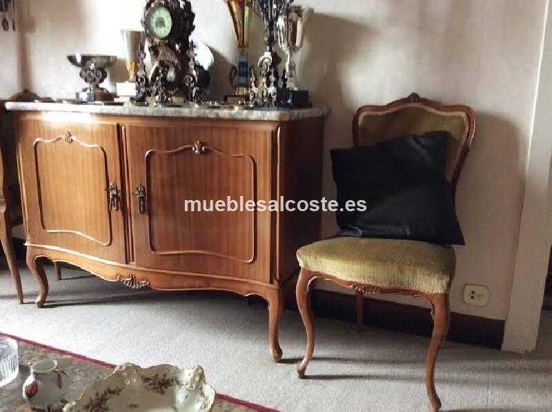 Mueble de media epoca armario litografia caballos cod for Muebles de epoca