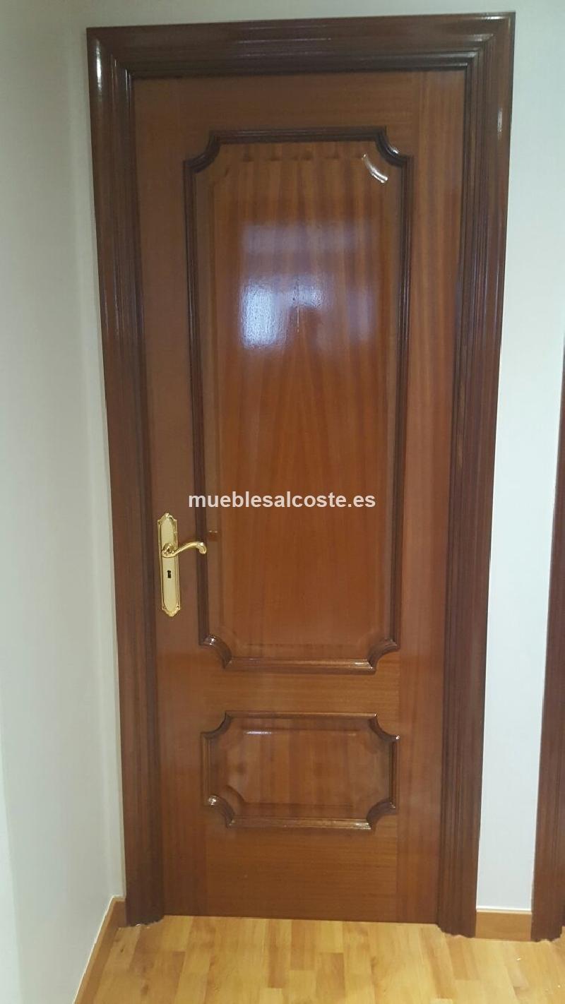 Puertas de madera ciegas y o acristaladas cod 18245 - Puertas de madera segunda mano ...