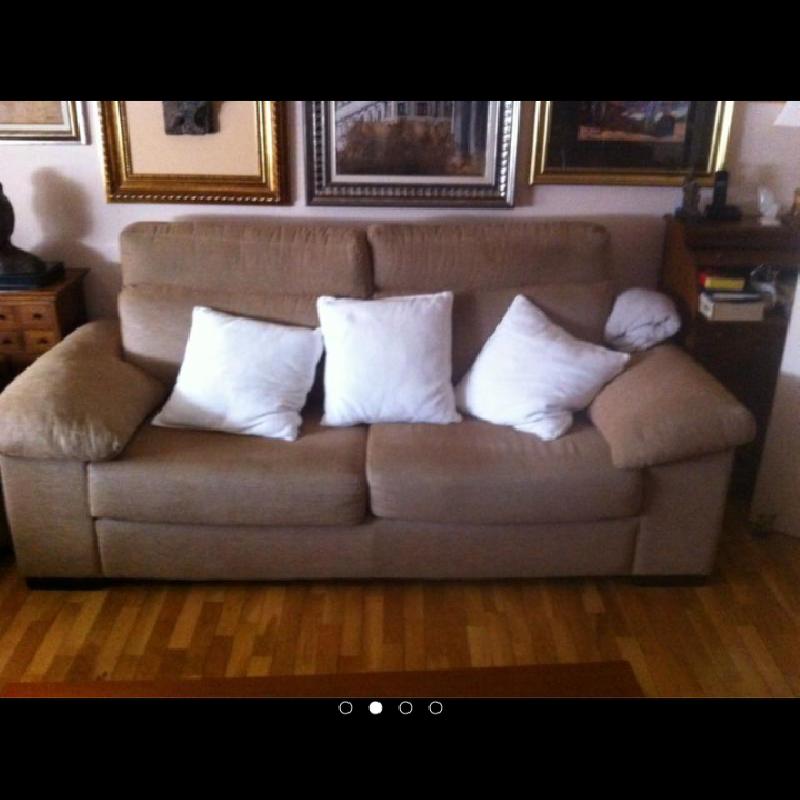 Conjunto dos sofas y sillon cod 18282 segunda mano - Sillon dos plazas ...