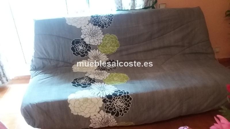 Sofa cama de tres plazas semi nuevo cod 18291 segunda mano for Sofa cama de una plaza nuevo
