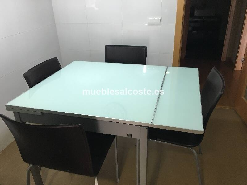 Mesa de cocina + 4 sillas cod:18297 segunda mano ...
