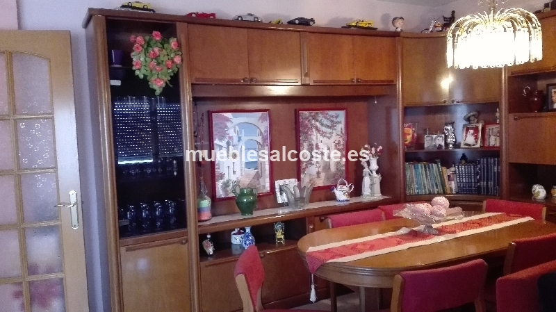 conjunto muebles comedor salon. mesa, sillas, aparador cod:18375 ...