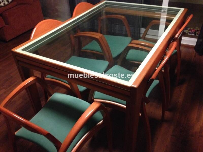 Mesa comedor extensible 5 sillas cod 18452 segunda mano - Mesa comedor extensible segunda mano ...