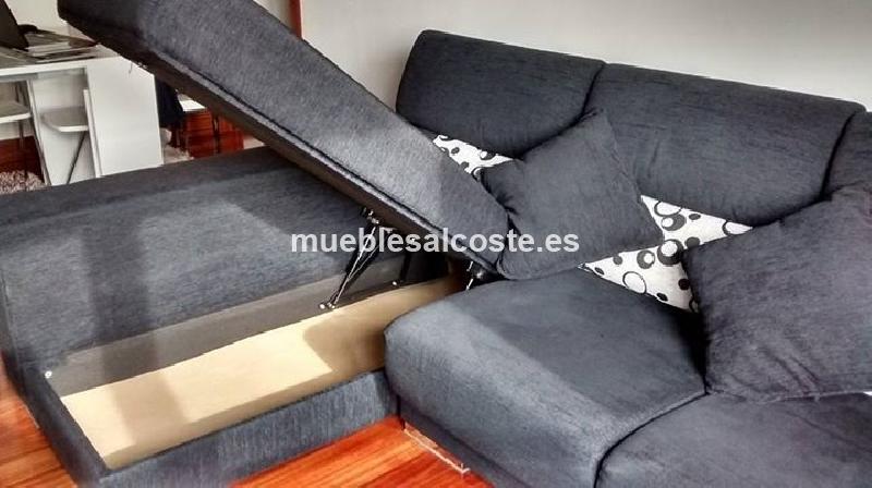 Sofa chaise longue cod 18505 segunda mano for Chaise longue segunda mano barcelona