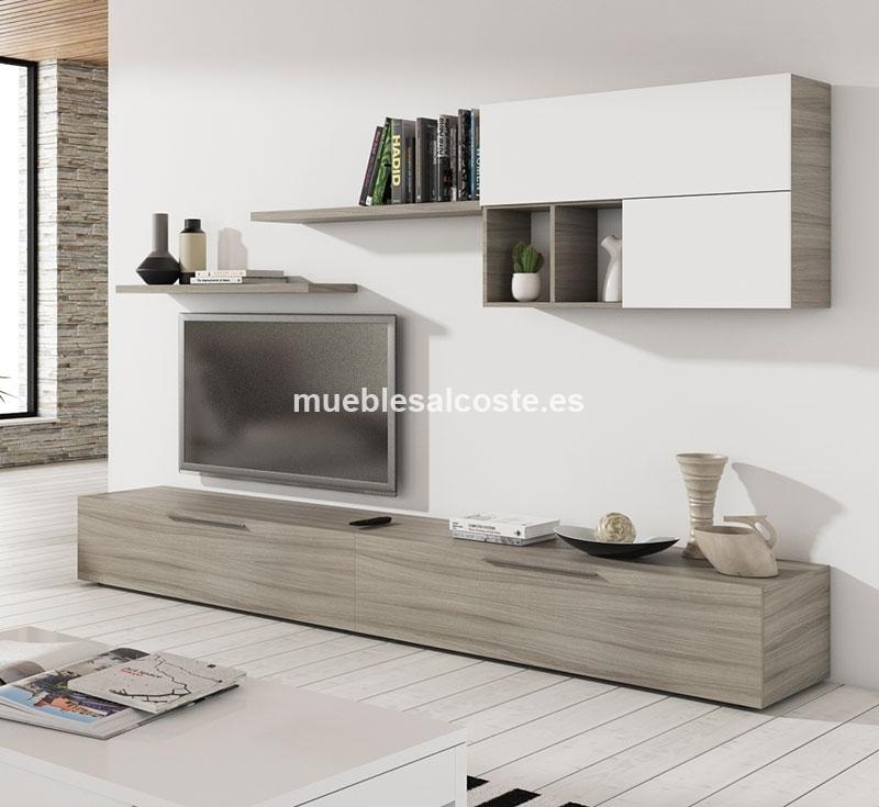 Mueble salon como este pero todo en blanco cod 18540 for Mueble salon blanco