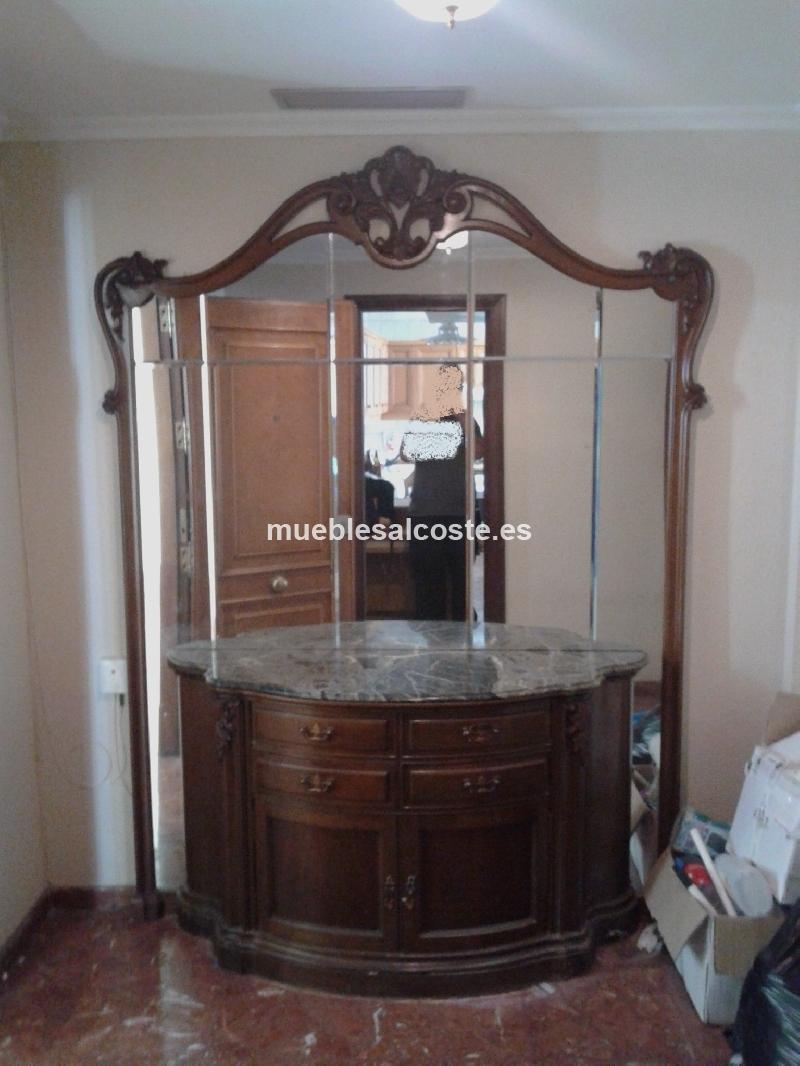 Mueble de entrada de madera clasico cod 18549 segunda mano - Mueble entrada segunda mano ...