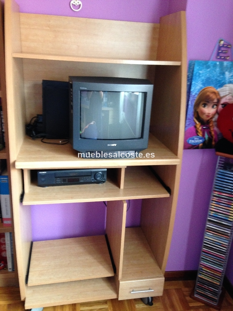 Mesa Auxiliar Tv Y Dve Equipo Musica Cod 18600 Segunda Mano