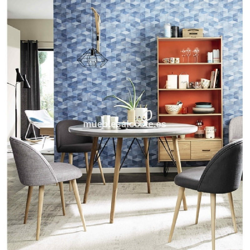 Muebles de comedor estilo vintage modernos cod 18574 for Comedor vintage moderno